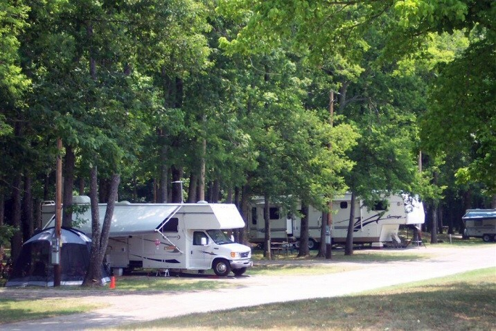 Redstone Arsenal MWR RV PARK Military Camping Only - Us military campgrounds and rv parks map